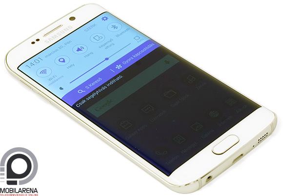 Kényelmesen kezelhető a Samsung Galaxy S6 edge
