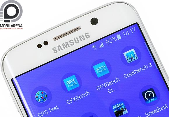Káprázatosan éles a Samsung Galaxy S6 edge kijelzője
