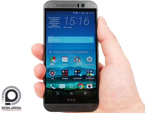 A One sorozat formavilágával tért vissza a HTC One M9