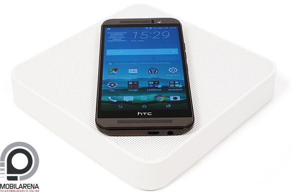 A HTC One M9 Dot View mintázatú dobozban kapható
