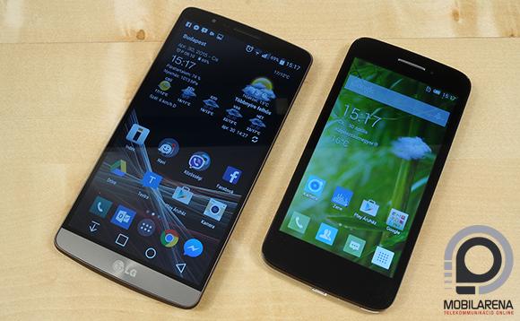 LG G3 vs. Alcatel One Touch Pop 2 (4.5)