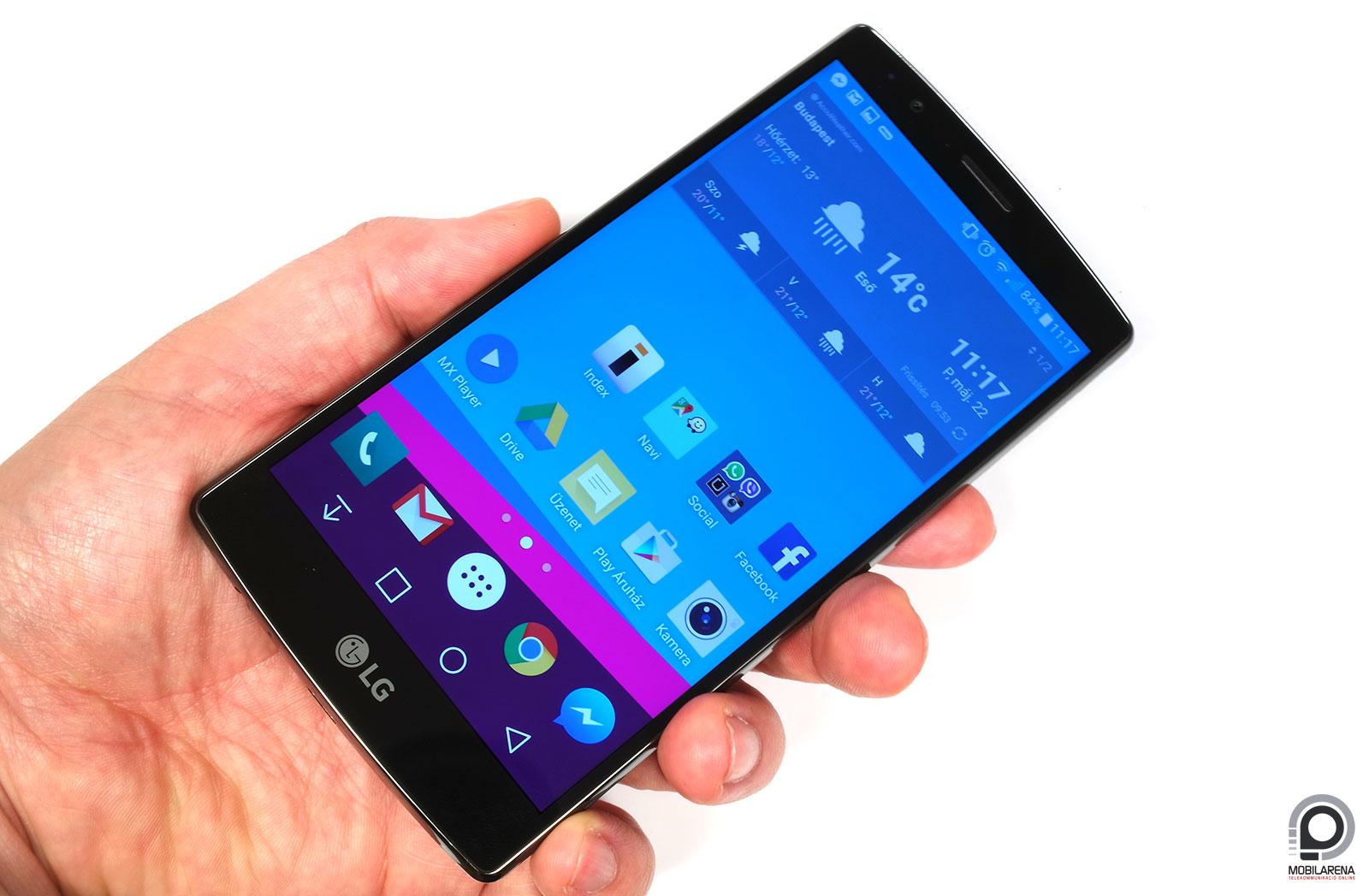 LG G4 - nehéz rajta fogást találni - Mobilarena Okostelefon teszt 7bed730cc3