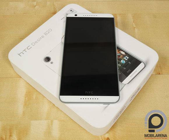 HTC Desire 820 doboz
