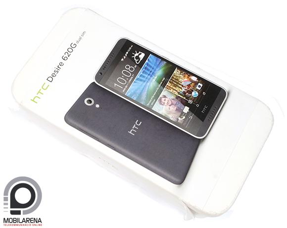 HTC Desire 620G Dual SIM doboz