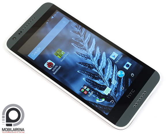 HTC Desire 620G Dual SIM előlapja