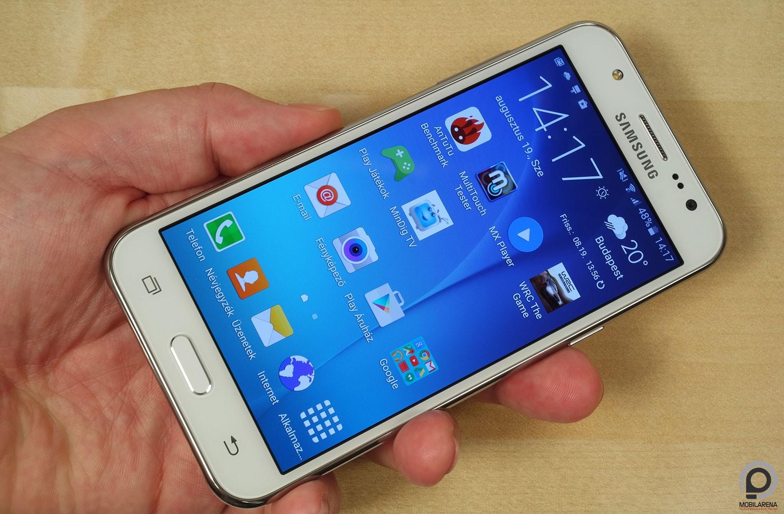 Samsung Galaxy J5 - csók a családnak - Mobilarena Okostelefon teszt 0644c02dc7