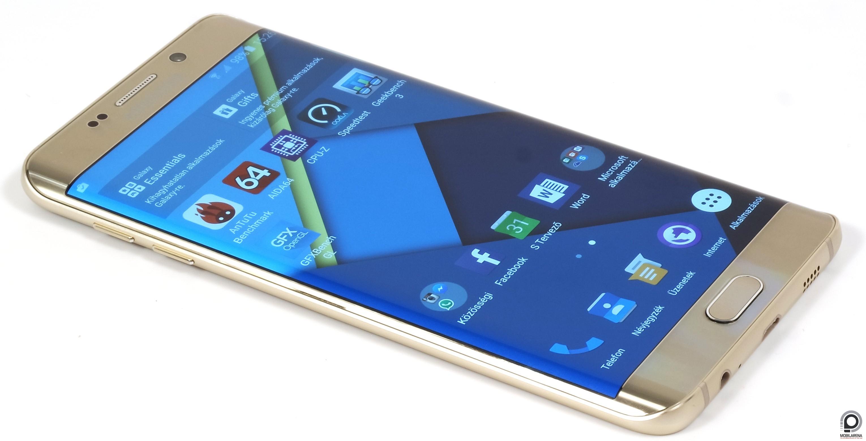 Az S6 edge+ a második két oldalán lehajló kijelzős Galaxy ec2f80373e