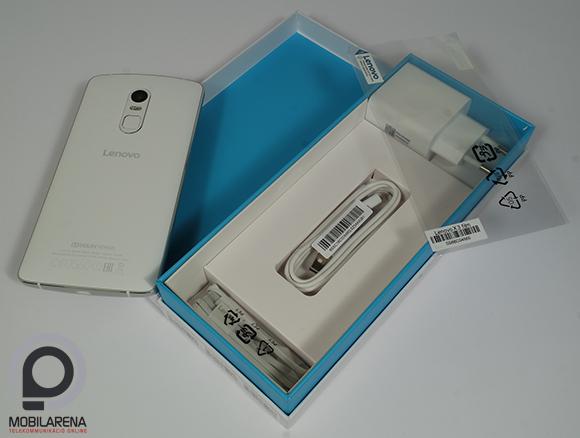 Az Lenovo Vibe X3 doboza