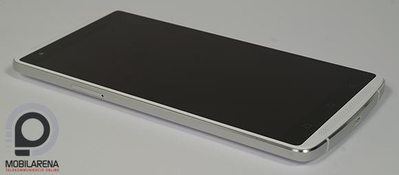 Lenovo Vibe X3 oldalról