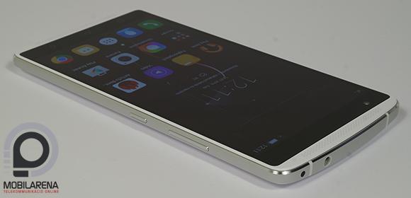 Lenovo Vibe X3 elölről