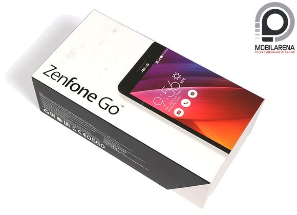 Az Asus Zenfone Go doboza