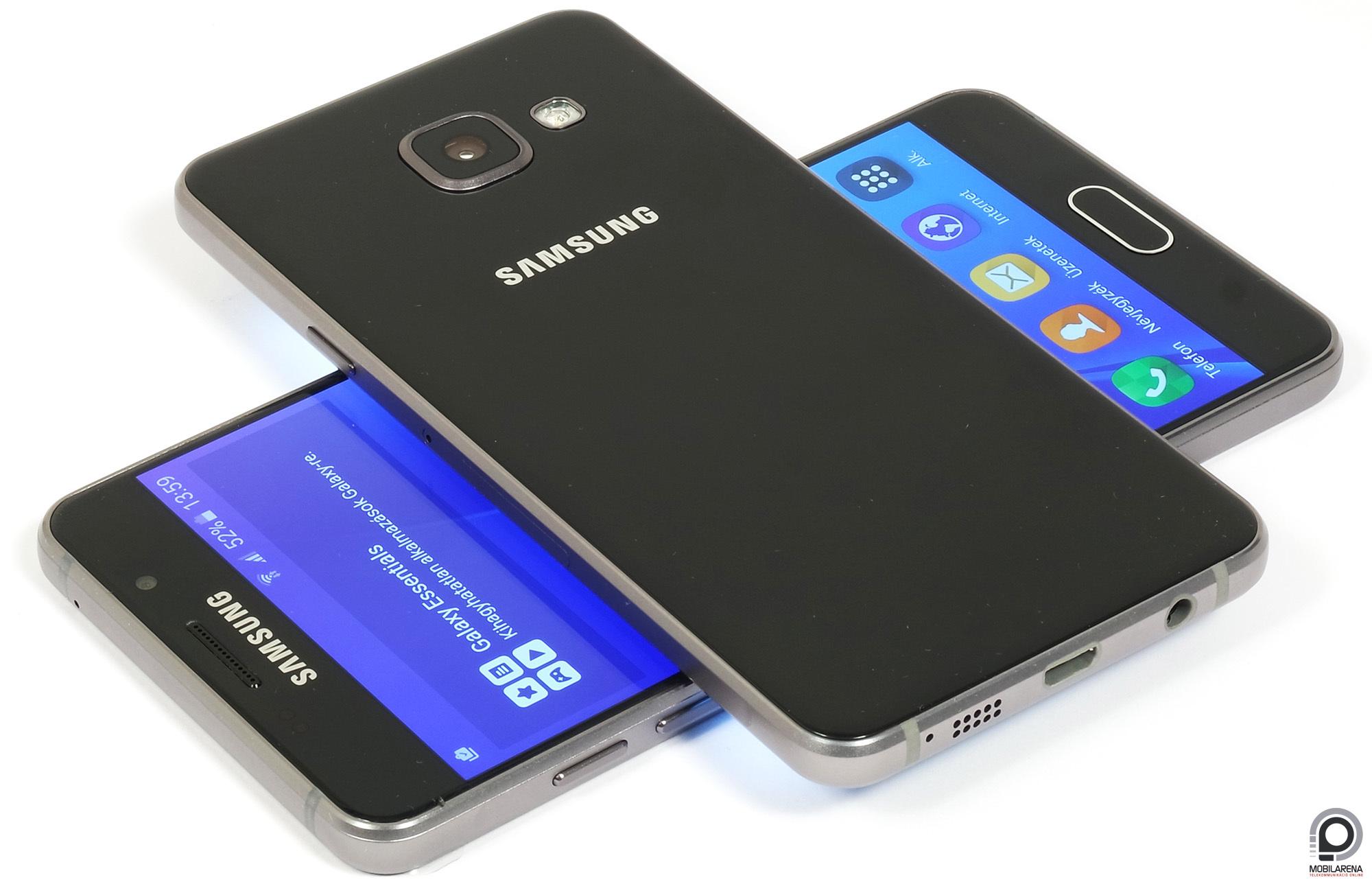 samsung galaxy a3 2016 a csal d kicsi kincse mobilarena okostelefon teszt. Black Bedroom Furniture Sets. Home Design Ideas