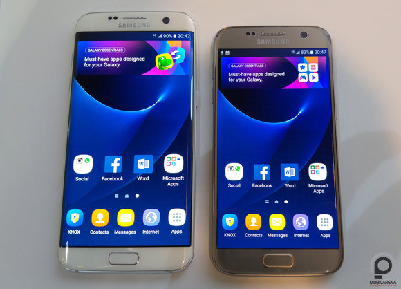 Samsung Galaxy S7 edge és Galaxy S7