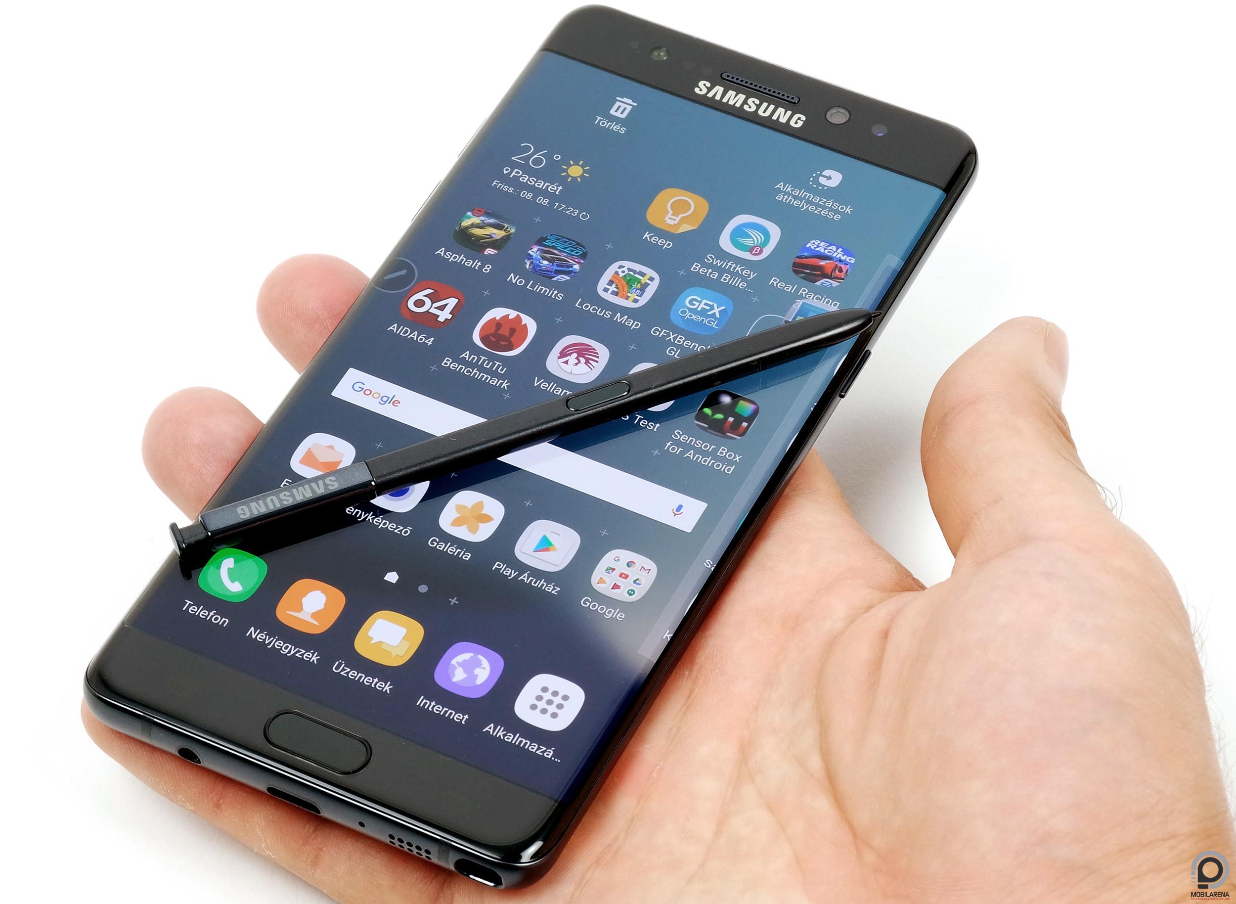 Samsung Galaxy Note7 - nézz mélyen szemembe! - Mobilarena Phablet ... d1e73aaef1