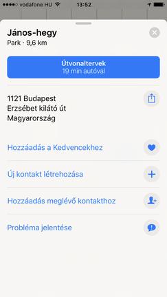 Jól működik a navigáció, és sok hasznos funkció került bele, de a magyar utcaneveket még mindig kezdetlegesen mondja vissza.