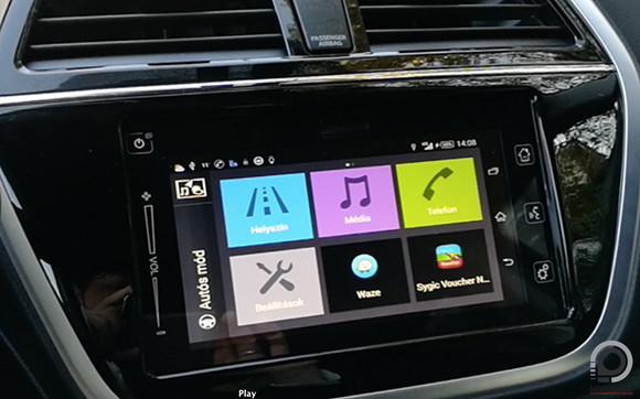 A Suzuki SX4 S-Cross fedélzeti rendszere - Mobilarena Autó+