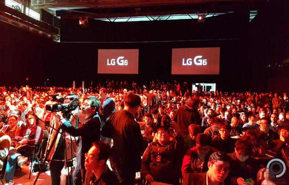 Az LG G6 bemutatója
