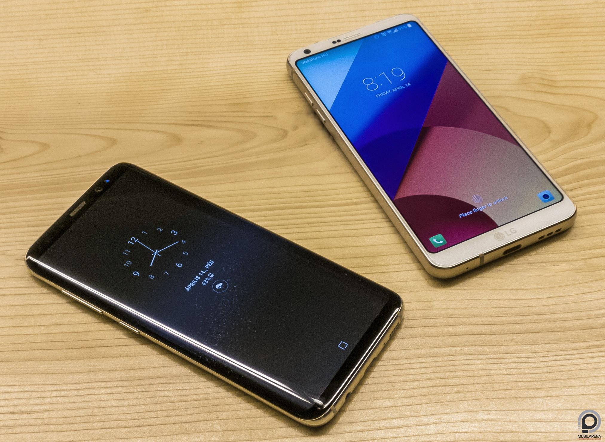 Samsung Galaxy S8 és S8+ duplateszt - Mobilarena Phablet teszt af5db3a2a1