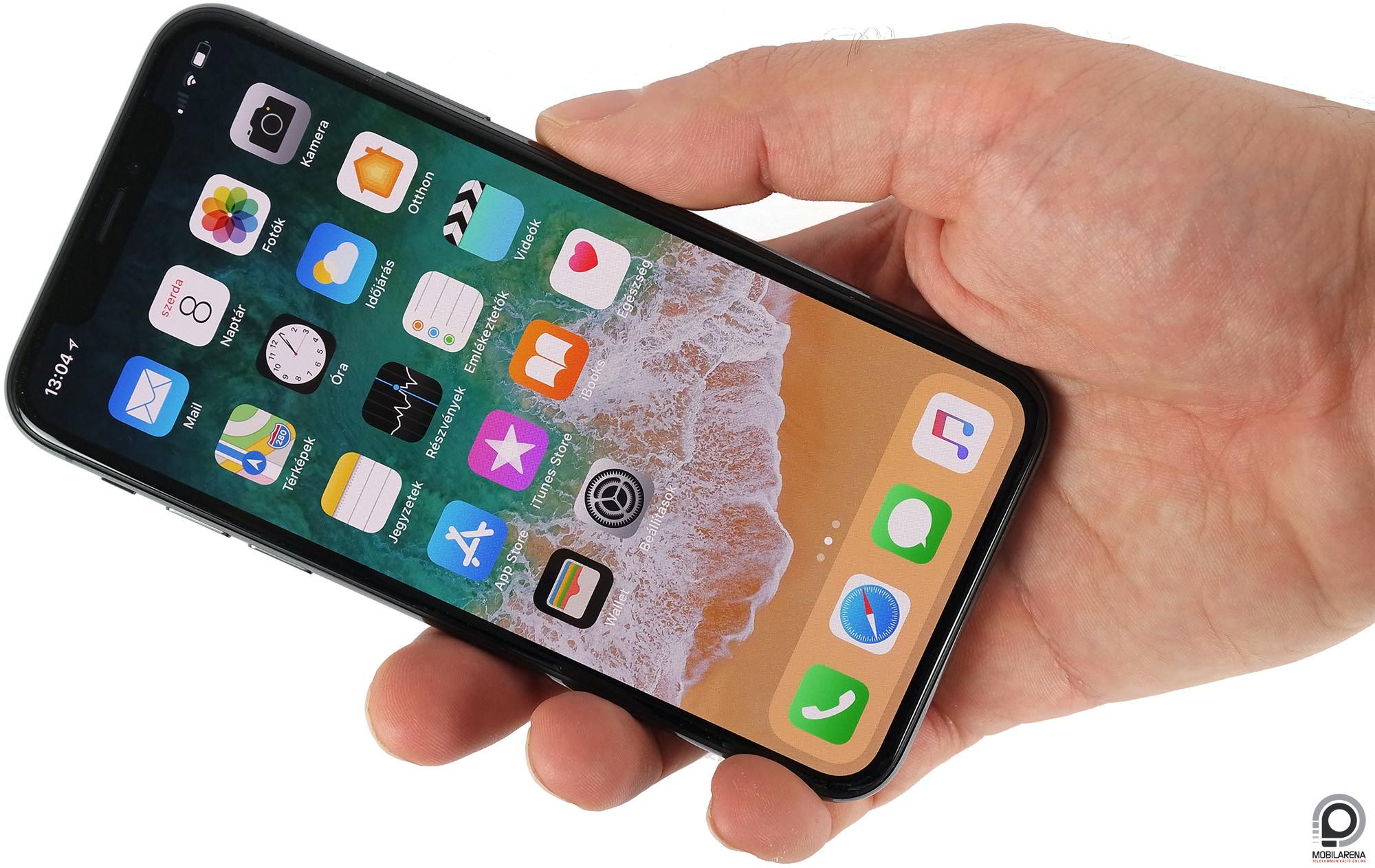 Apple iPhone X - vissza a jövőbe - Mobilarena Okostelefon   Phablet ... a0fc39fd12