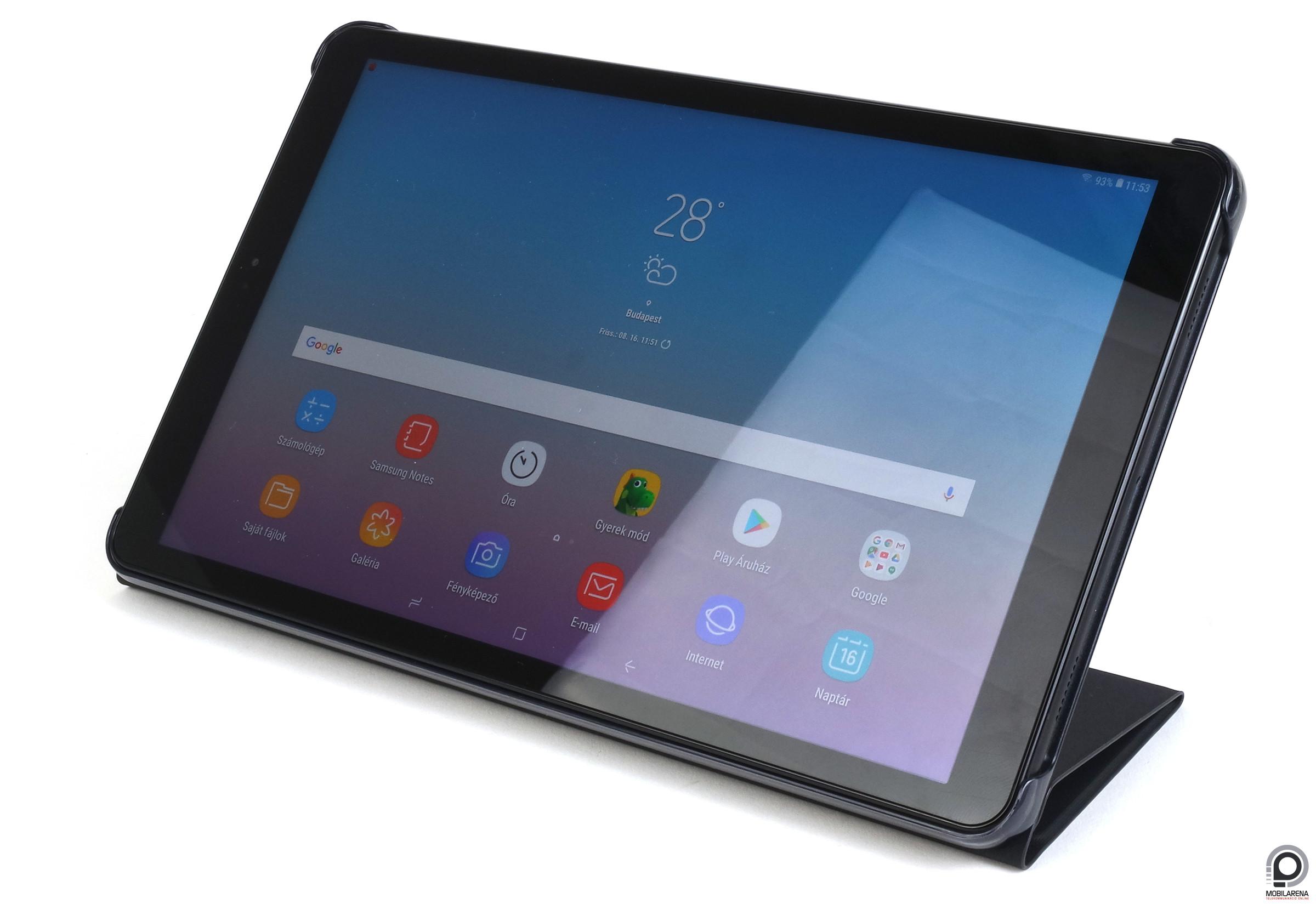 ... az IDC felmérése szerint 2018 második negyedévében minden harmadik  eladott tablet hátulján ott figyelt az almás logo.  + . A Samsung idén a Galaxy  Tab ... 30b46525d7