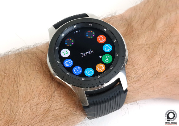 A Galaxy Watch (46 mm)