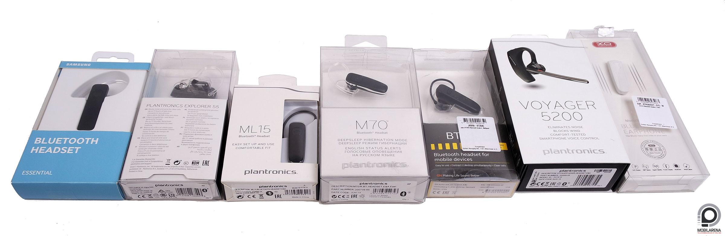 Bluetooth headsetek minden kategóriából - Mobilarena Tartozékok teszt -  Nyomtatóbarát verzió 5376f138b1