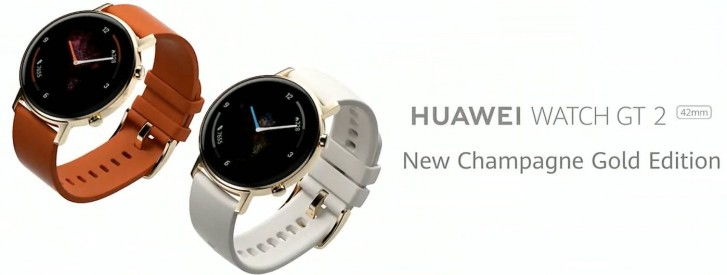 Huawei Watch GT 2 Champagne Gold Edition
