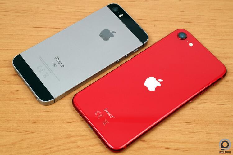 Régi és új iPhone SE egymás mellett