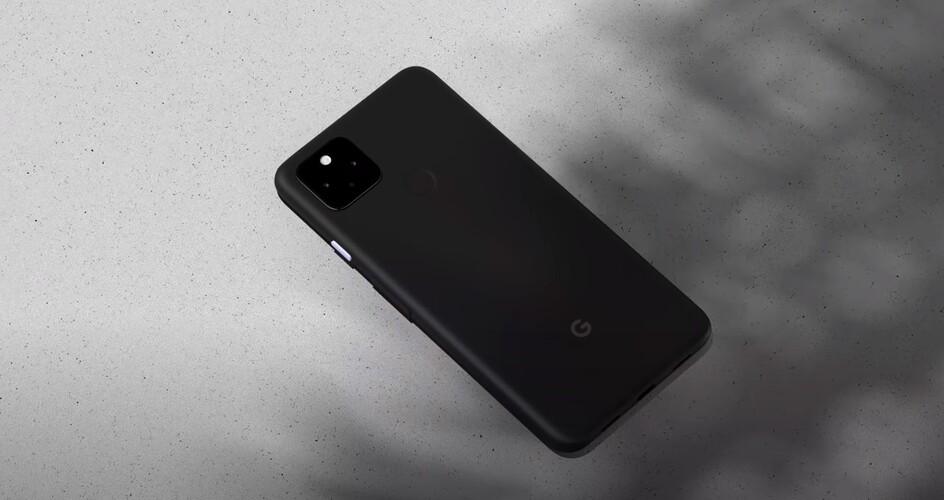 Ez pedig már a Pixel 4a 5G