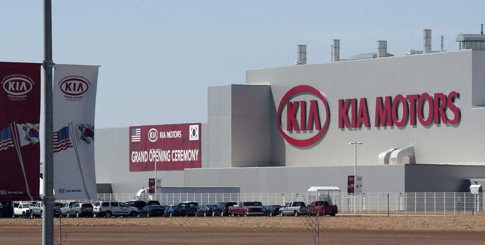A Kia üzeme Georgia lamllamban - innen gördülhet le az Apple Car a gyártósorokról