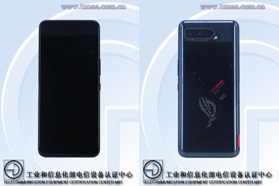 The ROG Phone 5 has a TENAA camera