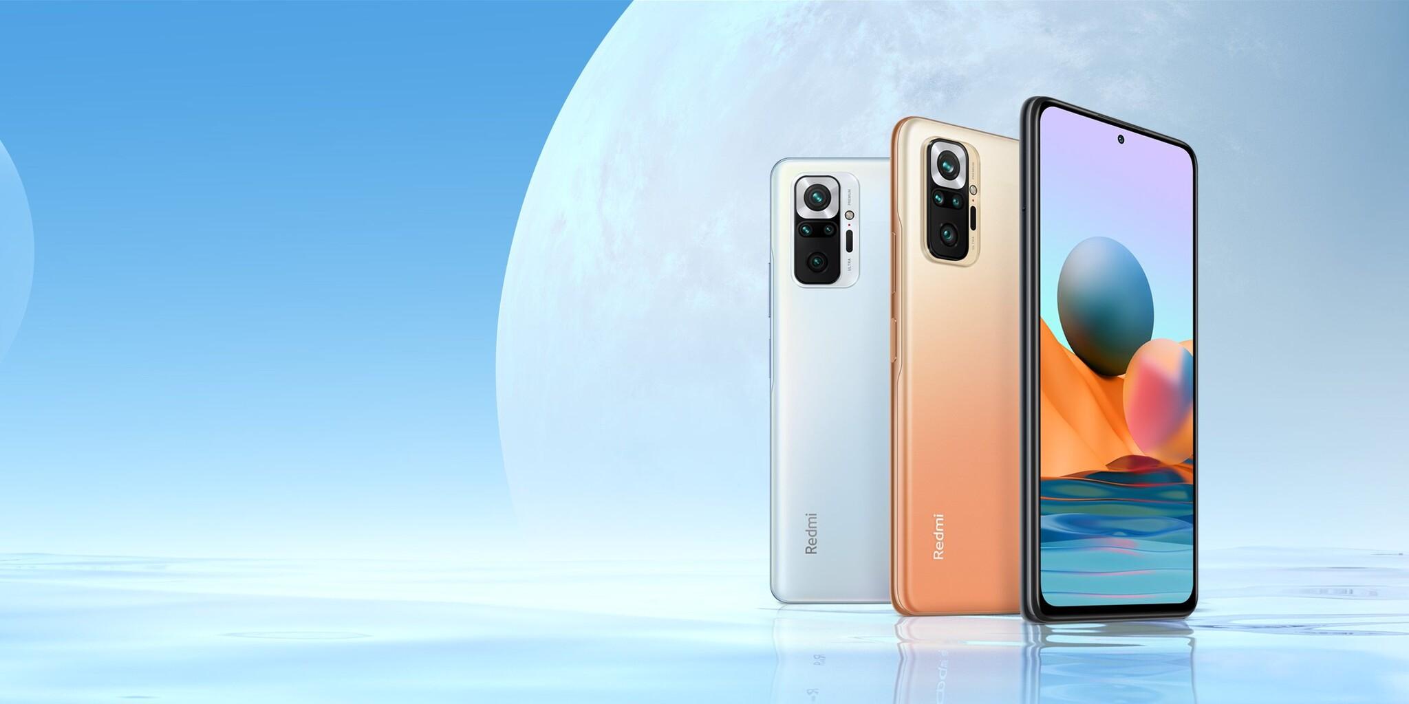 Négy Redmi Note 10 kapott nemzetközi premiert, 108 megapixeles csúcsváltozattal