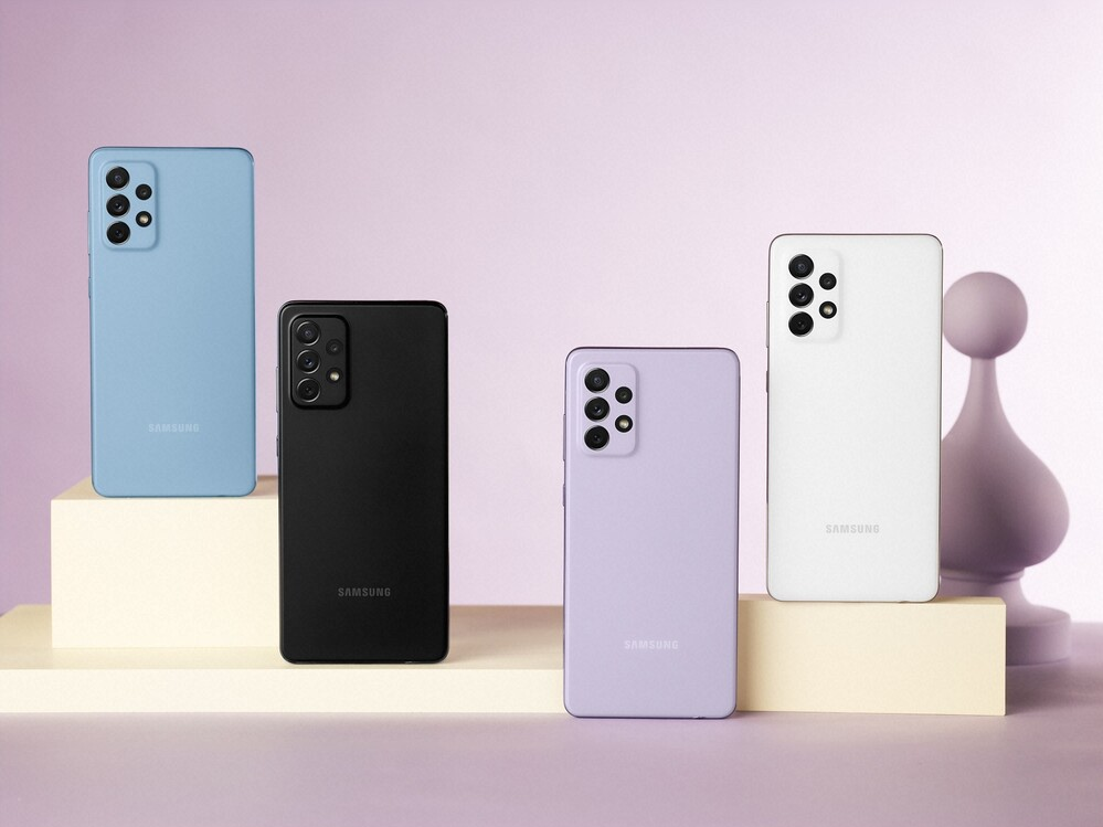The highlight of the series is the A72 in several colors