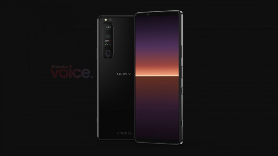 Xperia 1 III according to Voice renders