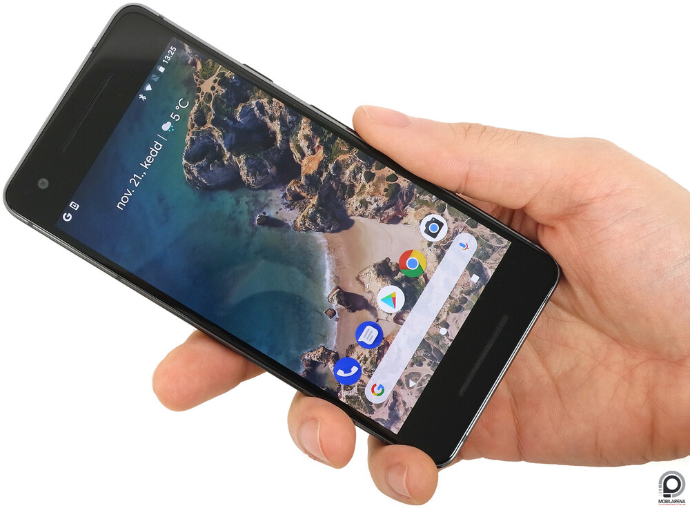 Pixel 2 doesn't have its own mobile platform yet, but has already deployed a Google chip called Pixel Visual Core