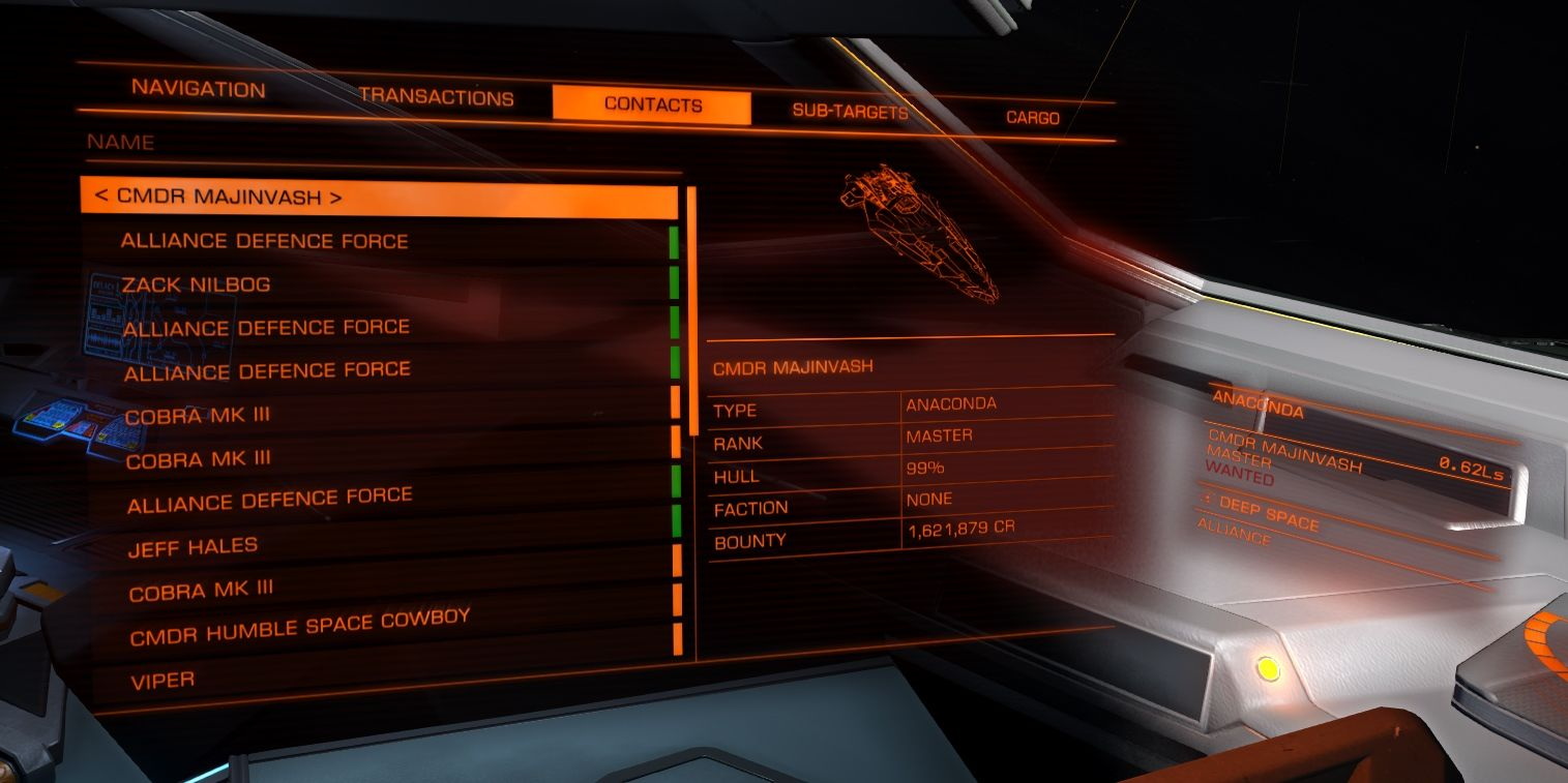 elite dangerous how to clear wanted