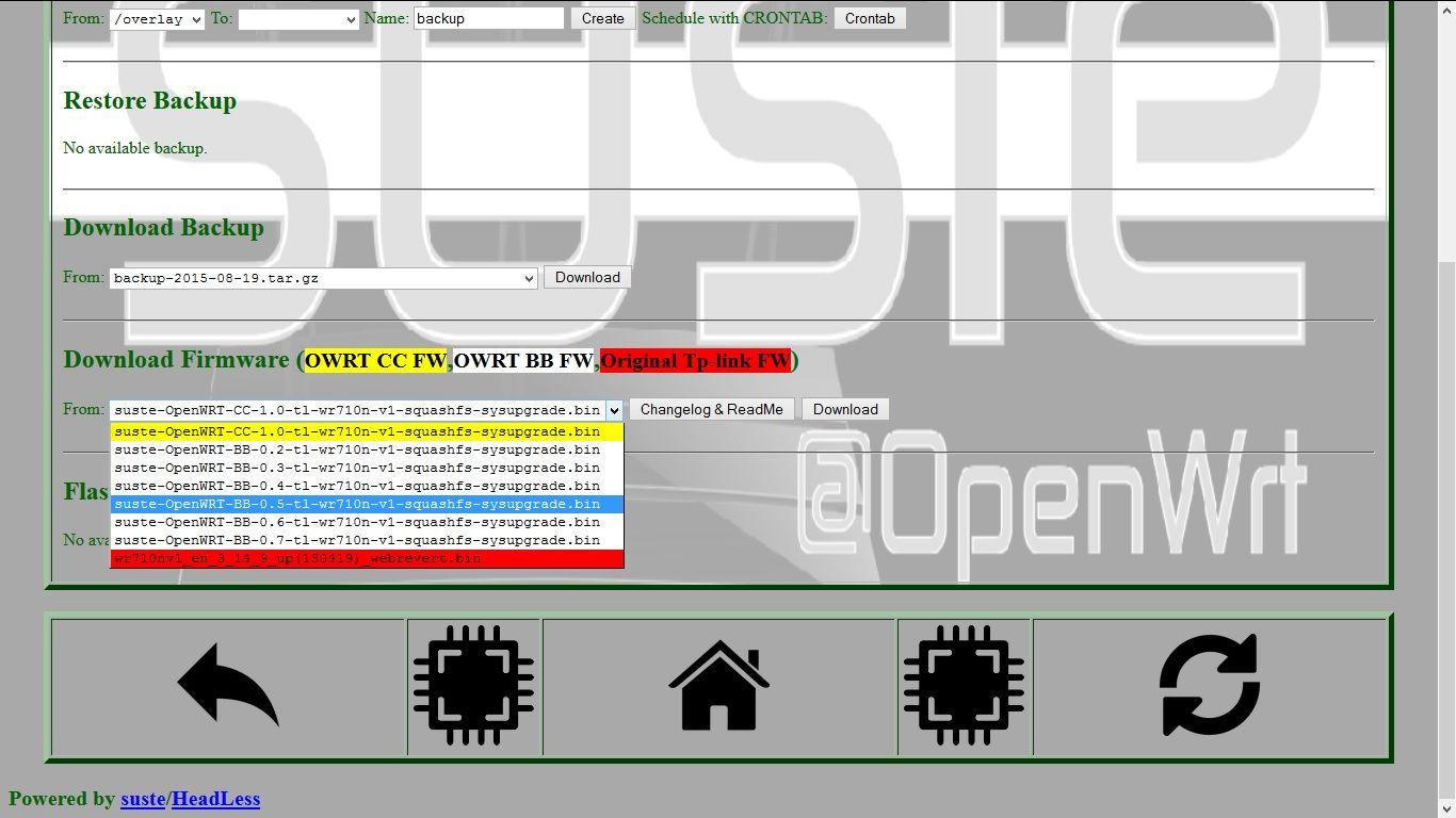Openwrt Barrier Breaker 14 07 Настройка